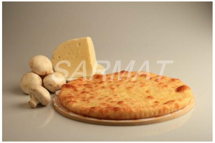 Осетинский пирог с сыром и грибами