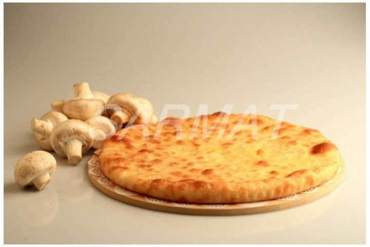 Осетинский пирог с грибами