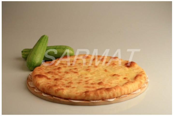 Осетинский пирог с кабачком