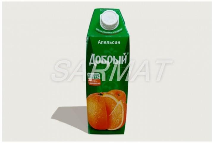 Сок Апельсиновый (Добрый) 1л